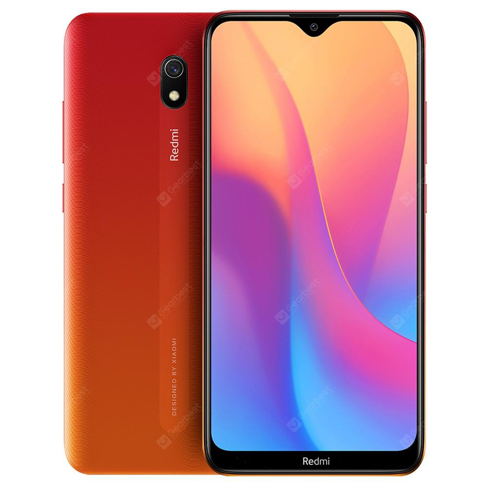 Xiaomi Redmi 8A 2+32GB Sunset Red EU- Red EU Plug