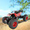 LH-C006-YW Kids Remote Control Four-wheel Toy Car Suitable for Multiple Terrains - RED
