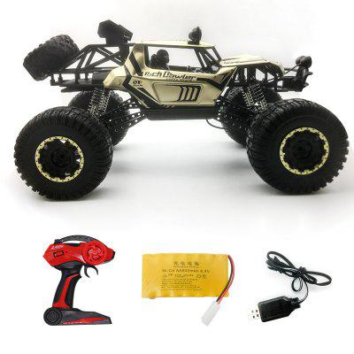 1:8 Alloy RC Toy Car 4WD Mountain Off-road Vehicle Suspension System Exquisite Appearance LED Light