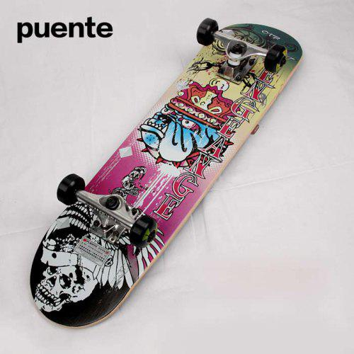 Puente 30 9 Inches ABEC-9 Skateboard for Entertainment