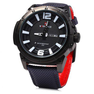 Naviforce 9066 Day Date Display Men Zegarek kwarcowy