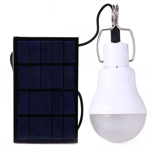 S 1200 130lm Portable Camping Led Light Solar Energy Bulb Lamp