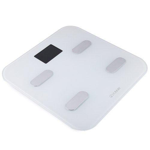 YUNMAI M1302 Bluetooth Smart Weighing Scale – WHITE 171348801 ( Will Not Ship to UK US South Korea )