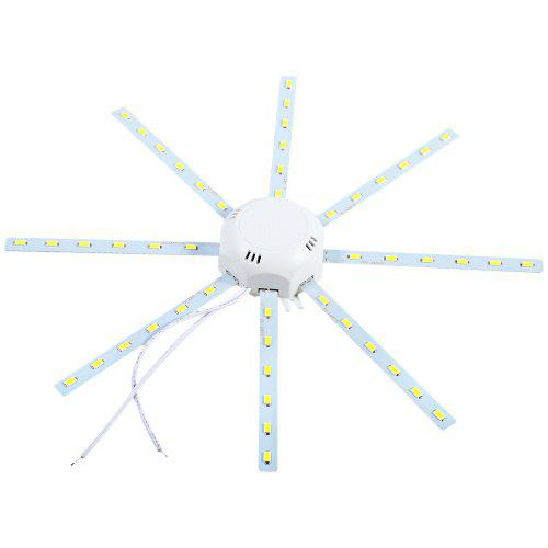 Octagonal LED Ceiling Lamp Fixture 1920Lm 24W 48 x SMD 5730