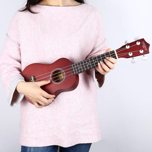 21 inch Ukulele Basswood 4 String Guitar Ukuer for Children / Adult - $38.28 Free Shipping|Gearbest.com