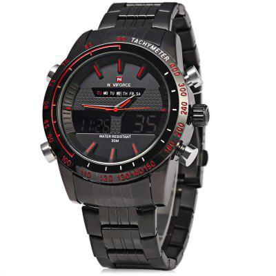 NAVIFORCE NF9024 Mannen Quarz Digital Watch