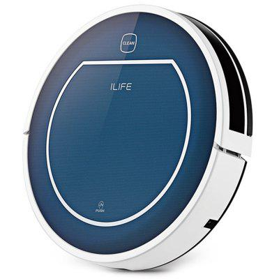 Refurbished ILIFE V7 Super Mute Sweeping Robot Home Vacuum Cleaner Dust Cleaning with 2500mAh Li-ion Battery