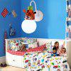 Cartoon Giraffe LED Wall Light Kids Bedroom Kindergarten - WHITE LIGHT