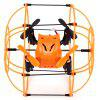 Helic Max Sky Walker 1336 4 Channel 2.4G RC Quadcopter - ORANGE