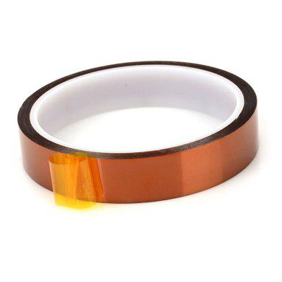 18mm Width 30m Length High Temperature Heat Resistant Kapton Polyimide Tape