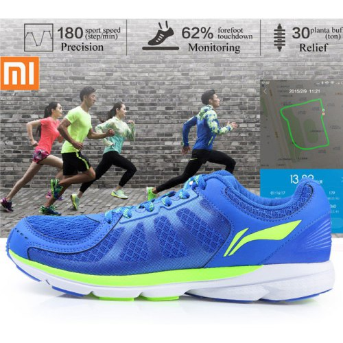 bf7dbb360d9 Smart Running Shoes with Bulit-in Xiaomi Mi Chips