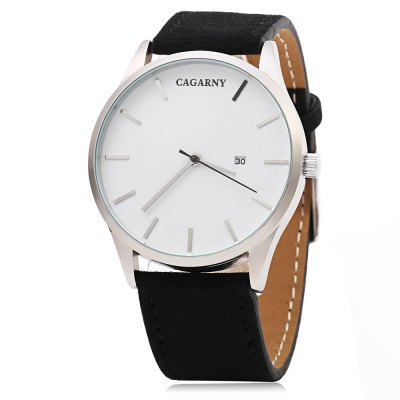 Refurbished CAGARNY 6850 Business Style Men Quartz Watch