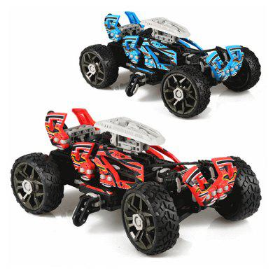 SDL 2014A - 2 30KM/H 2.4GHz KIT RC Car Off Road Vehicle Drift Assembly Toy for Children