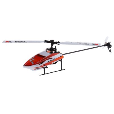 Refurbished XK K110 6CH Brushless Single Blade RC Helicopter RTF with 3D and 6G Mode