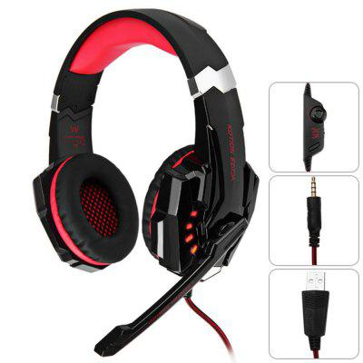 KOTION EACH G9000 Headset Gamer USB com Plugue de 3.5mm para PS4