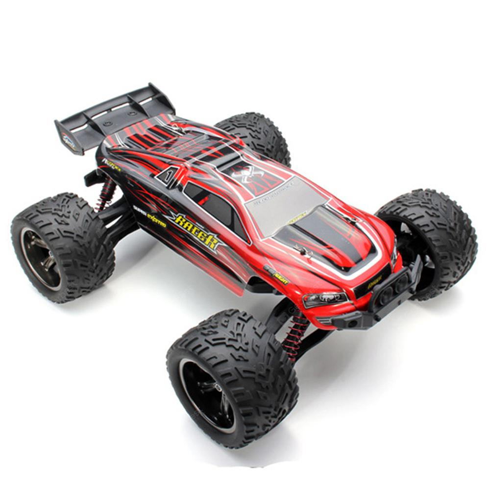 XINLEHONG TOYS 9116 1/12 Scale 2WD 2.4G 4CH RC Monster Truck - RTR - RED
