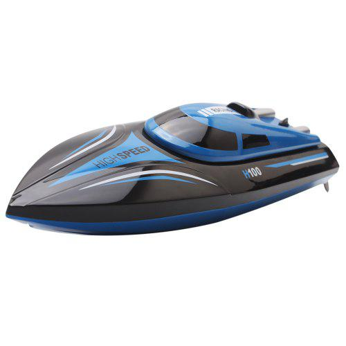 Skytech H100 RC Racing Boat - Blue and Black