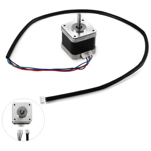 2 pcs NEW miniature Two-phase four-wire 10MM stepper motor With soft cable