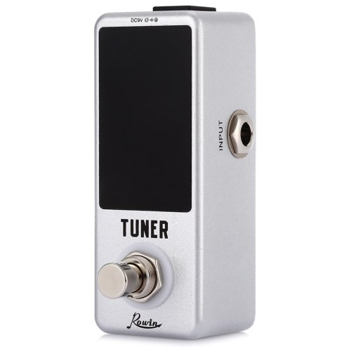 Have An Inquiring Mind Lcd Screen Chromatic Guitar Pedal Tuner True Bypass Aluminum Alloy Shell Toy Parts For Bass Guitar Guitar Ukulele Violin Parts & Accessories