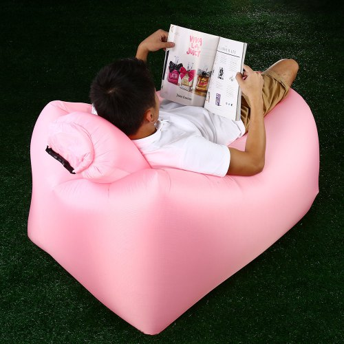 Outstanding Ultralight Inflatable Lazy Sofa With Pillow Beach Chair For Leisure Activities Pabps2019 Chair Design Images Pabps2019Com
