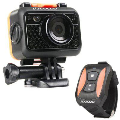 Refurbished Original SOOCOO S60 1080P WiFi Sports Action Video Camera 60m Waterproof SOS Anti- Shake 170 Degree Wide Angle 1.5 Inch LCD Camera
