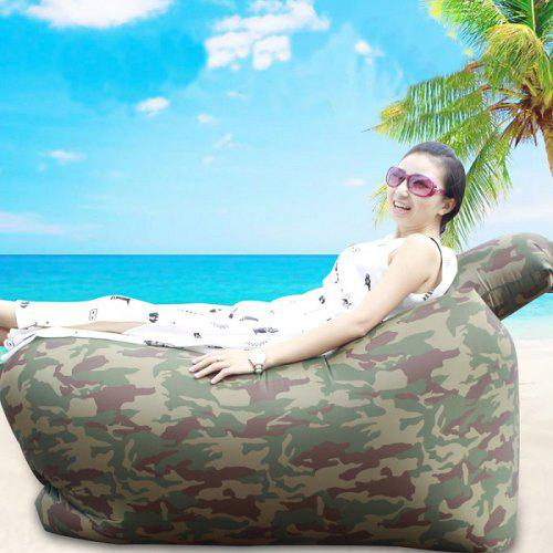Superb Ultralight Inflatable Lazy Sofa With Pillow Beach Chair For Leisure Activities Pabps2019 Chair Design Images Pabps2019Com