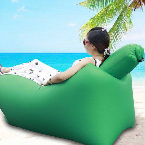 Amazing Ultralight Inflatable Lazy Sofa With Pillow Beach Chair For Leisure Activities Pabps2019 Chair Design Images Pabps2019Com