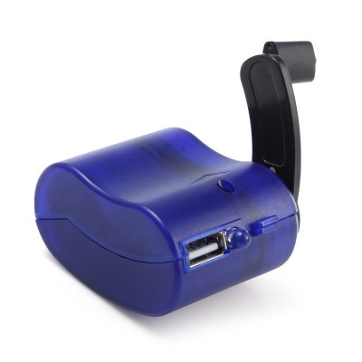 Emergency USB Hand-cranking Manual Dynamo Charger