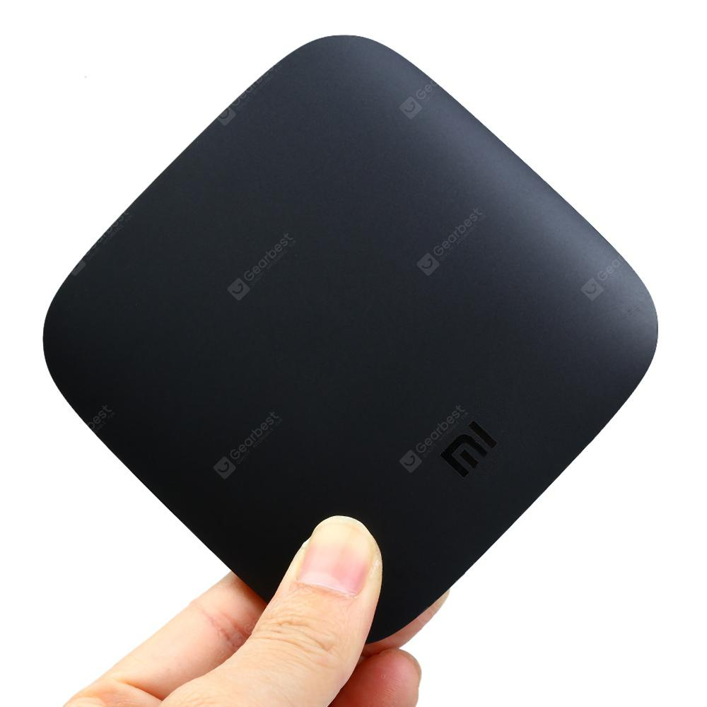 ( Official International Version ) Original Xiaomi Mi TV Box - US Plug Black