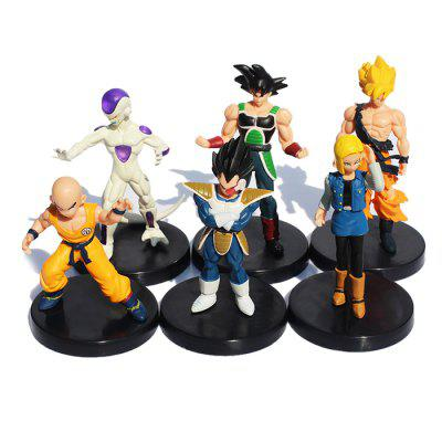 4.7 inch PVC Action Figure Collectible Animation Characters Model Toy Set