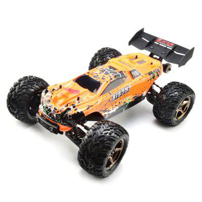 VKAR RACING BISON V2 Brushless RC Truck- RTR - ORANGE WITH HOBBYWING MXA10 RTR 120A ESC