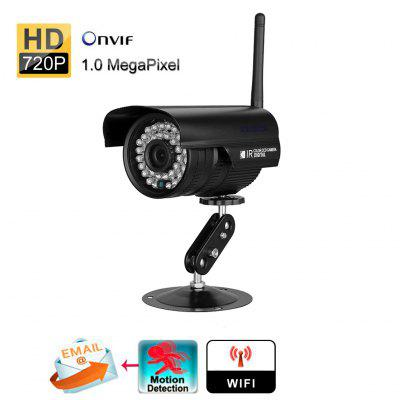 720P  Waterproof WLAN Wireleess 1.0 Megapixel  Security CCTV WiFi IP Camera US
