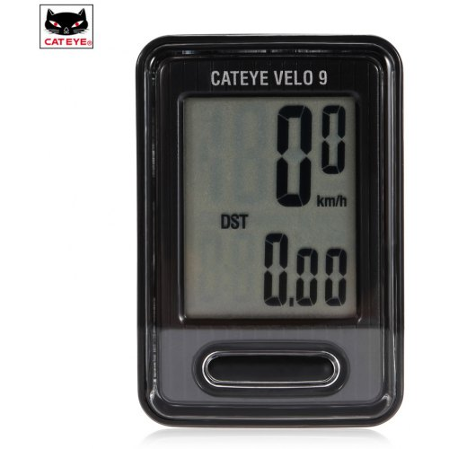 CATEYE CC-VL820 Velo 9 Cycle Computer Black White from Japan