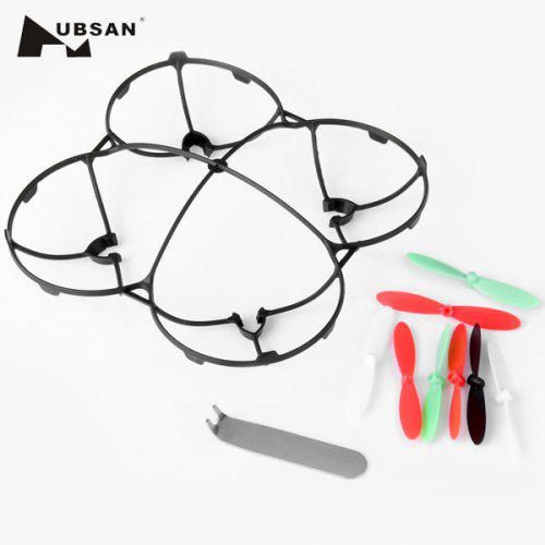 Hubsan X4 H107L Quadcopter Propeller Blade Guard Cover White 7mm Motor