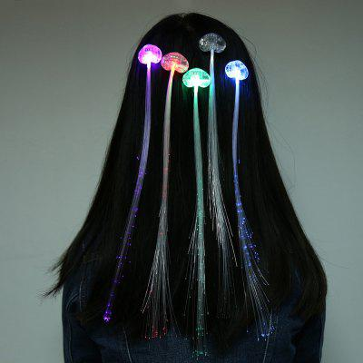 Novelty LED Glowing Hair Braid Extensions 5pcs