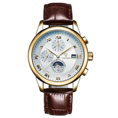 TEVISE 9008G Casual Men Automatic Mechanical Watch