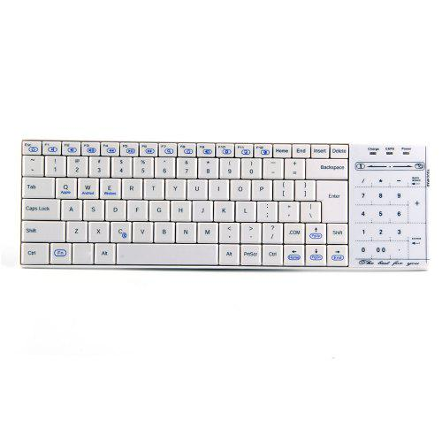 c03a8c17f17 BT10 Bluetooth Wireless Keyboard with Numeric Keypad / Mouse Switch Touchpad