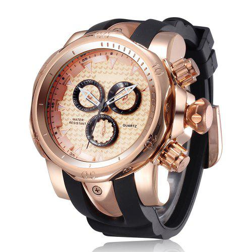 SHHORS 1216 Fashion Men Quartz Watch