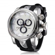 SHHORS 1216 Fashion Men Reloj de cuarzo