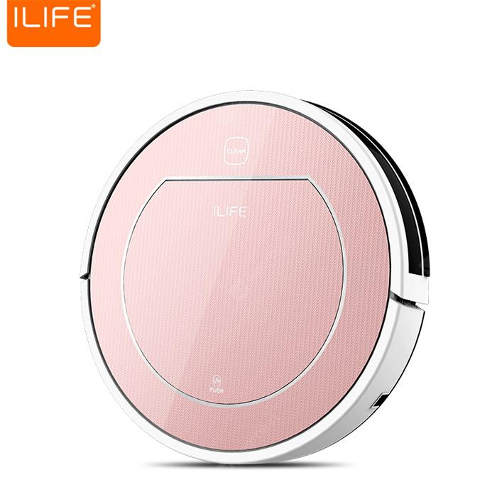 Bons Plans Gearbest Amazon - ILIFE V7S Pro Smart Robotic Aspirateur ROSE