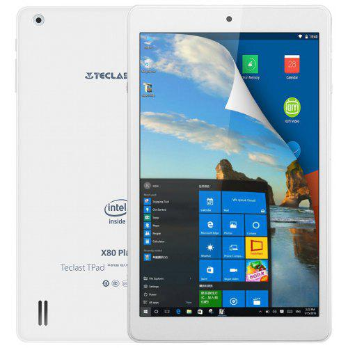 2 Pack Tempered Glass Screen Protector For Teclast X80 Plus Teblet
