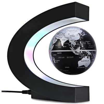 C Shape Magnetic Levitation Floating Globe World Map with LED Light Decoration for Home Office (Gearbest) Daly City For sale ad