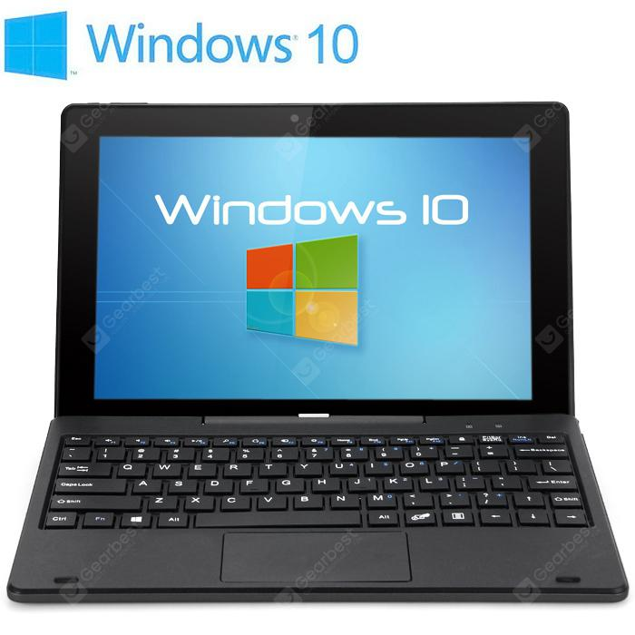 Refurbished PIPO W1S Tablet PC 64GB ROM - Without Keyboard Black