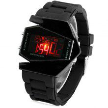 5074c9a0f 15% OFF Sanda P028G Silicone Band LED Digital Men Watch for Outdoor  Activities