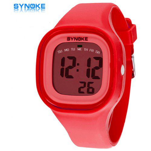Men's Watches Analytical Synoke Solar Power Led Digital Sports Wrist Watch Mens Woman Unisex El Backlight Stopwatch 3atm Waterproof Relogio A Great Variety Of Goods