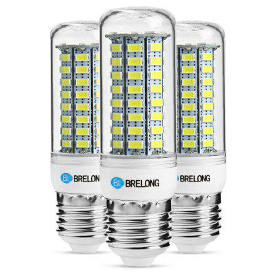3PCS BRELONG E27 12W 1200Lm SMD 5730 LED maïslicht