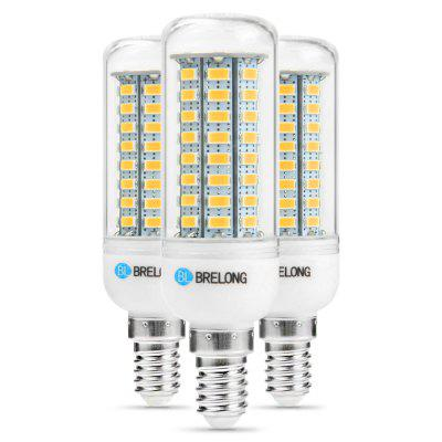 3PCS BRELONG E14 12W 1200Lm SMD 5730 LED Corn Light