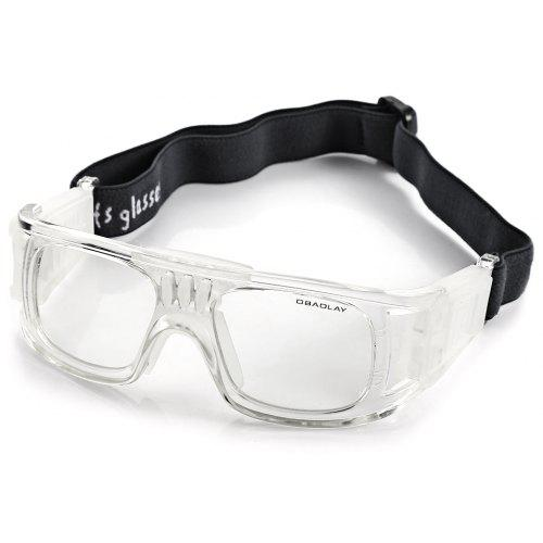 bdc6bbea2d Durable Anti-shock Basketball Glasses Sports Safety Goggles Soccer Football  Eyewear - White -  21.78 Free Shipping