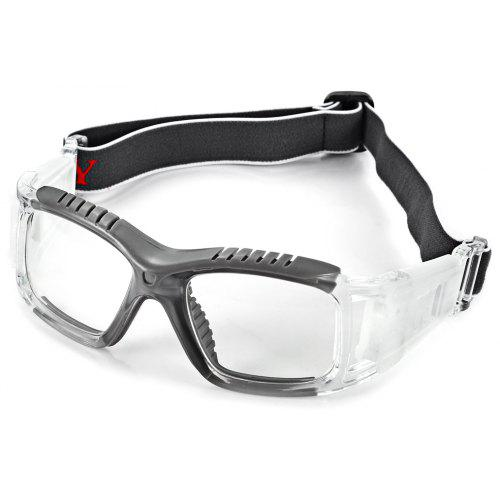 dcc532a2cfb Excellent Anti-collision Basketball Glasses Sports Safety Goggles Soccer  Football Eyewear - Gray