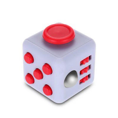 ABS Stress Reliever Fidget Magic Cube for Worker